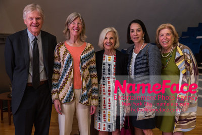 The Rockefeller University Women & Science Lecture and Luncheon Guest, Guest, Guest, Marlene Hess and Guest - NameFace Photo Agency New York City - hello@nameface.com - nameface.com - Photo by