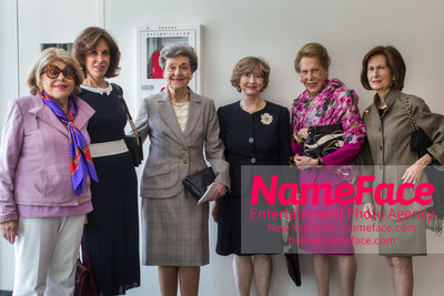 The Rockefeller University Women & Science Lecture and Luncheon Guest, Guest, Nancy Marks, Guest, Joan Taub Ades and Marie-Monique Steckel - NameFace Photo Agency New York City - hello@nameface.com - nameface.com - Photo by