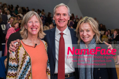 The Rockefeller University Women & Science Lecture and Luncheon Guest, Guest and Gillian Steel - NameFace Photo Agency New York City - hello@nameface.com - nameface.com - Photo by
