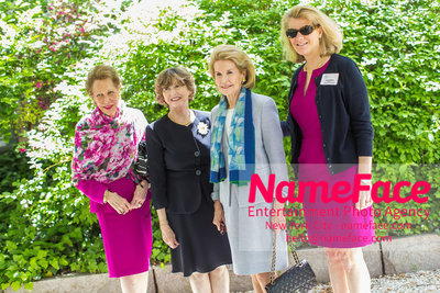The Rockefeller University Women & Science Lecture and Luncheon Joan Ades, Guest, Sydney Shuman and Guest - NameFace Photo Agency New York City - hello@nameface.com - nameface.com - Photo by