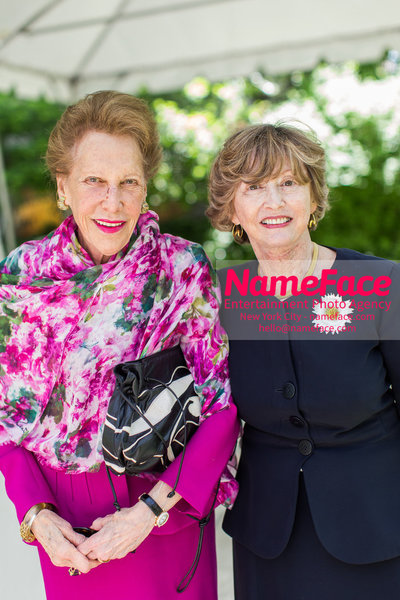 The Rockefeller University Women & Science Lecture and Luncheon Joan Ades and Guest - NameFace Photo Agency New York City - hello@nameface.com - nameface.com - Photo by