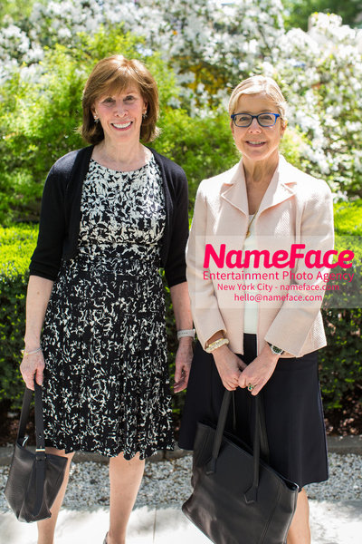The Rockefeller University Women & Science Lecture and Luncheon Evelyn Lipper and Guest - NameFace Photo Agency New York City - hello@nameface.com - nameface.com - Photo by