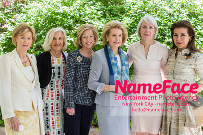 The Rockefeller University Women & Science Lecture and Luncheon Guest, Guest, Guest, Sydney Shuman, Guest and Princess Firyal al-Muhammad - NameFace Photo Agency New York City - hello@nameface.com - nameface.com - Photo by
