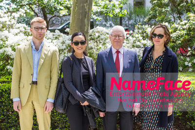 The Rockefeller University Women & Science Lecture and Luncheon Guest, Guest, Jan Vilcek and Guest - NameFace Photo Agency New York City - hello@nameface.com - nameface.com - Photo by