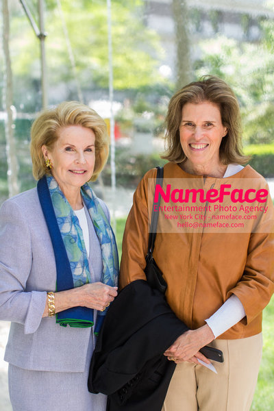The Rockefeller University Women & Science Lecture and Luncheon Sydney Shuman and Kerry Kennedy - NameFace Photo Agency New York City - hello@nameface.com - nameface.com - Photo by