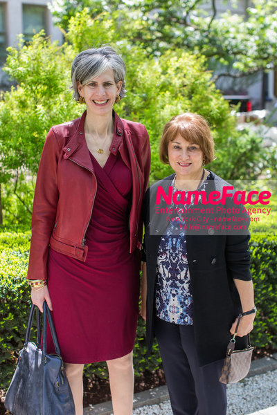 The Rockefeller University Women & Science Lecture and Luncheon Kate Levin and Anita Contini - NameFace Photo Agency New York City - hello@nameface.com - nameface.com - Photo by