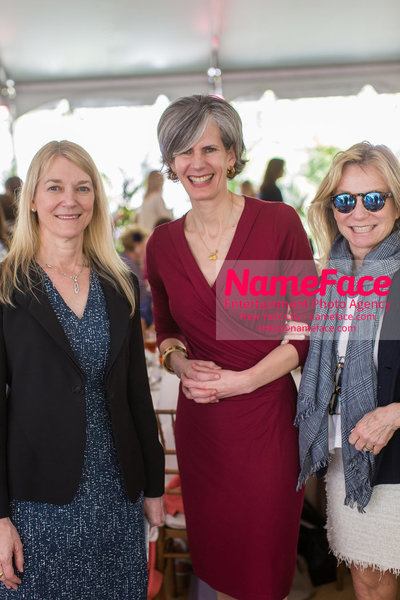 The Rockefeller University Women & Science Lecture and Luncheon Cori Bargmann, Kate Levin and Guest - NameFace Photo Agency New York City - hello@nameface.com - nameface.com - Photo by