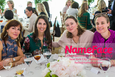 The Rockefeller University Women & Science Lecture and Luncheon Sallie Giordano, Guest, Guest and Carolina Zapf - NameFace Photo Agency New York City - hello@nameface.com - nameface.com - Photo by