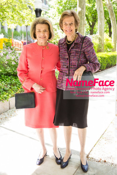 The Rockefeller University Women & Science Lecture and Luncheon Guest and Dinny Morse - NameFace Photo Agency New York City - hello@nameface.com - nameface.com - Photo by