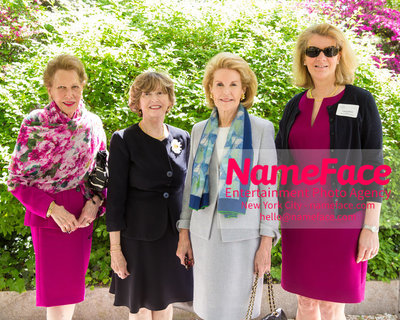 The Rockefeller University Women & Science Lecture and Luncheon Joan Taub Ades, Guest, Sydney Shuman and Guest - NameFace Photo Agency New York City - hello@nameface.com - nameface.com - Photo by