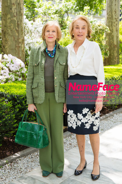 The Rockefeller University Women & Science Lecture and Luncheon Marica Vilcek and Elaine Langone - NameFace Photo Agency New York City - hello@nameface.com - nameface.com - Photo by