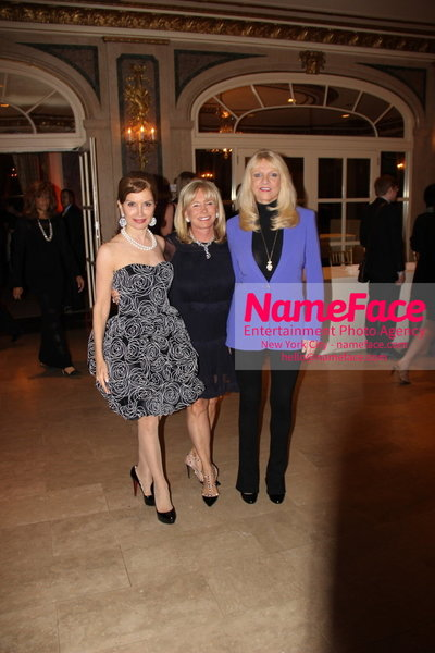 The New York Womens Foundations Annual Fall Gala Jean Shafiroff   and Sharon Bush - NameFace Photo Agency New York City - hello@nameface.com - nameface.com - Photo by