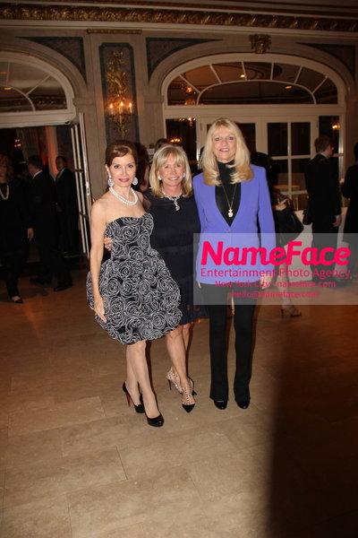 The New York Womens Foundations Annual Fall Gala Jean Shafiroff, Sharon Bush and Margo Catsimatidis - NameFace Photo Agency New York City - hello@nameface.com - nameface.com - Photo by