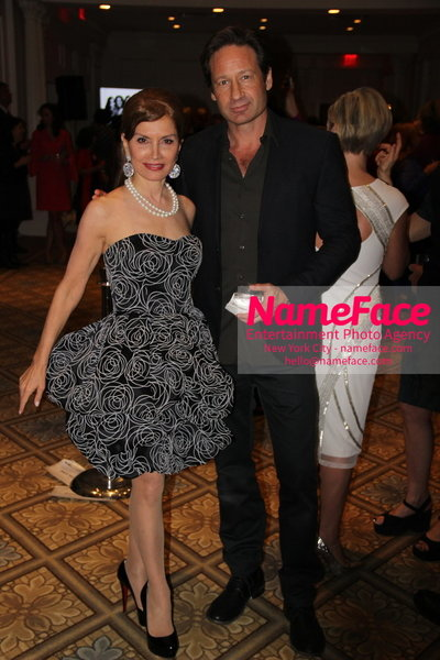 The New York Womens Foundations Annual Fall Gala Jean Shafiroff and David Duchovny - NameFace Photo Agency New York City - hello@nameface.com - nameface.com - Photo by