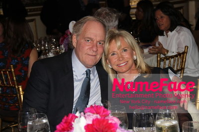 The New York Womens Foundations Annual Fall Gala Oscar Plotkin and Sharon Bush - NameFace Photo Agency New York City - hello@nameface.com - nameface.com - Photo by