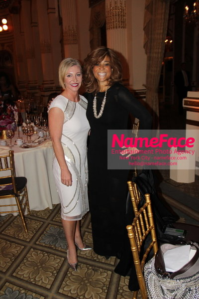 The New York Womens Foundations Annual Fall Gala Grainne McNamara and Kwanza Butler - NameFace Photo Agency New York City - hello@nameface.com - nameface.com - Photo by