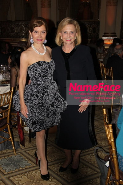 The New York Womens Foundations Annual Fall Gala Jean Shafiroff and Carolyn Maloney - NameFace Photo Agency New York City - hello@nameface.com - nameface.com - Photo by