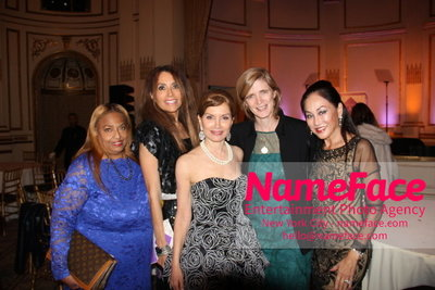 The New York Womens Foundations Annual Fall Gala Flo Anthony, Lieba Nesis, Jean Shafiroff, Samantha Power and Lucia Hwong-Gordon - NameFace Photo Agency New York City - hello@nameface.com - nameface.com - Photo by