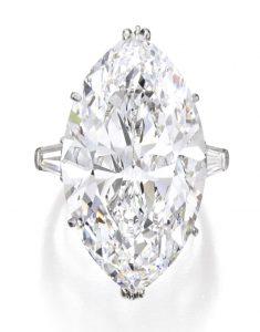 Lot 205 - Important Platinum and Diamond Ring