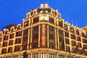 Harrods Department Store, London