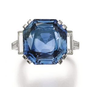 Lot 73 - Sapphire and Diamond Ring, Bulgari