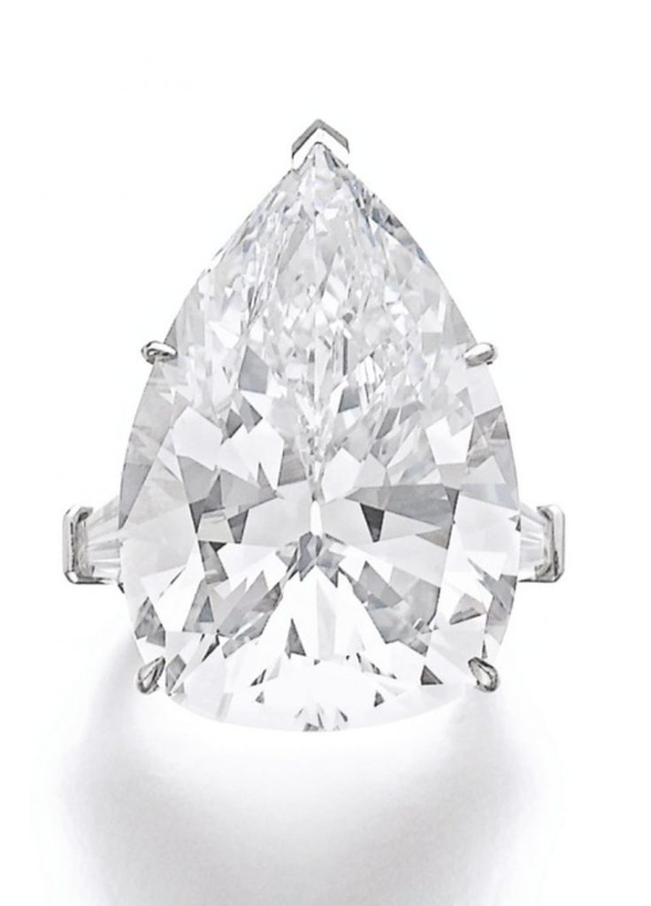 Lot 326 - Important diamond ring, Harry Winston