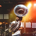 New Breed Brass Band. Photo by Jake Giles Netter.