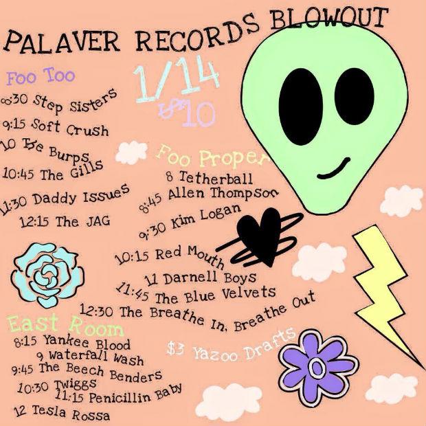 Palaver 3rd Anniversay lineup