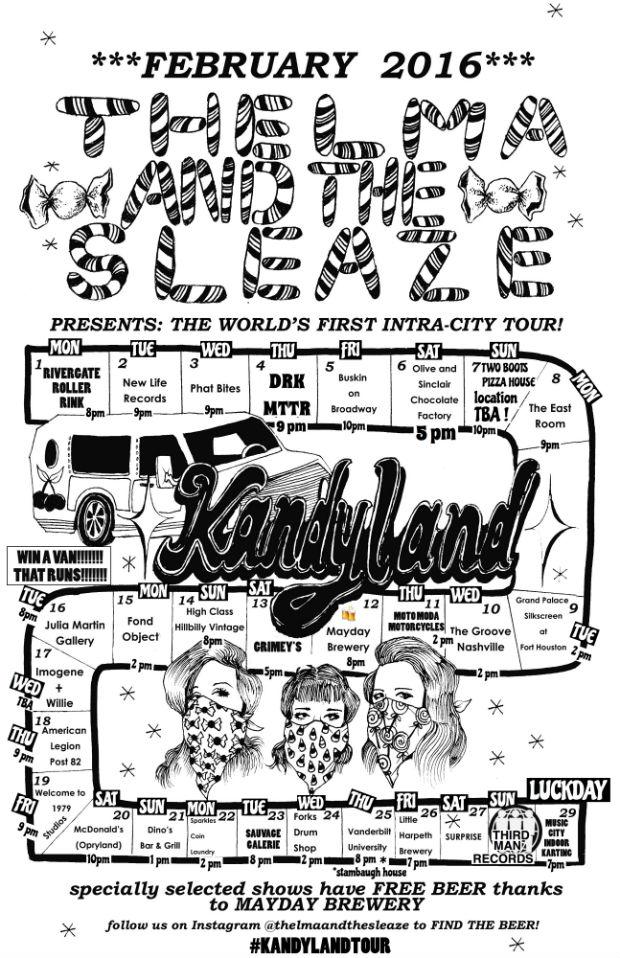 Thelma Sleaze Kandy Land 2016