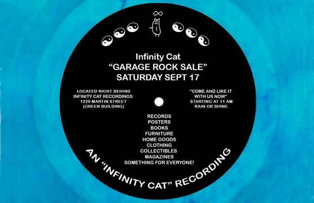 Infinity Cat Garage Sale