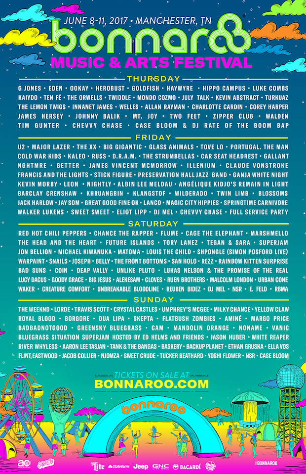 BonnarooDailyScheduleFull-2017