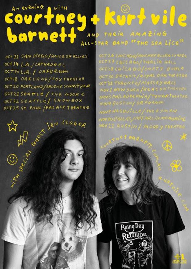 Barnett+Vile Tour Poster-620