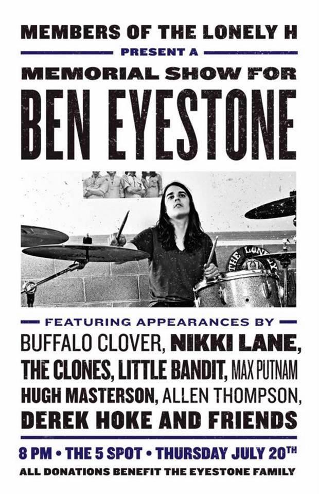 Ben Eyestone Memorial Poster