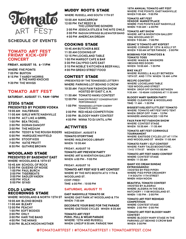 TomatoFest2018-schedule
