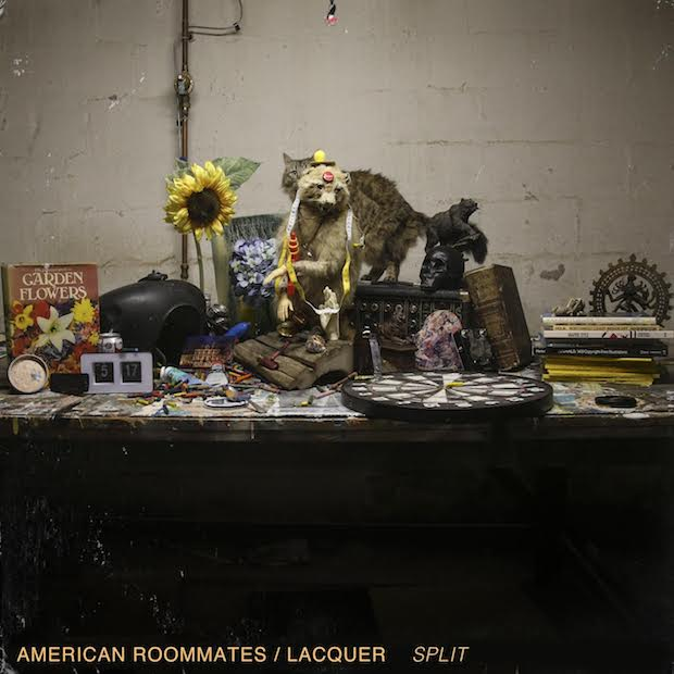 [NO COUNTRY PREMIERE] American Roommates & Lacquer Team Up for 'Split' EP  |  No Country For New Nashville