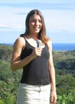 Thespesia populnea   - Eva Dubey, NTBG Intern, talking about Thespesia populnea