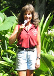 Ficus macrophylla   - Maureen Murphy, NTBG Senior Horticulturist, talking about Ficus macrophylla