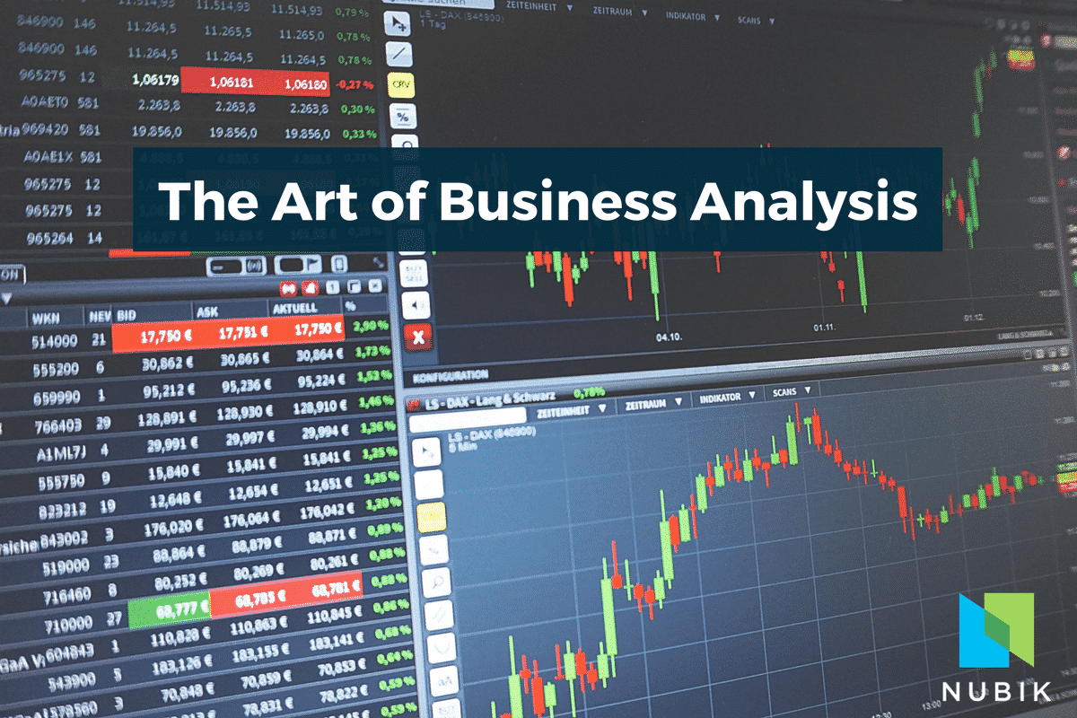 The Art of Business Analysis - Blog post by Nubik.ca