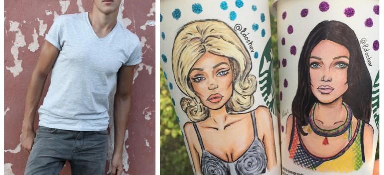 19歲小鮮肉插畫師爆紅,Rihanna都點讚!