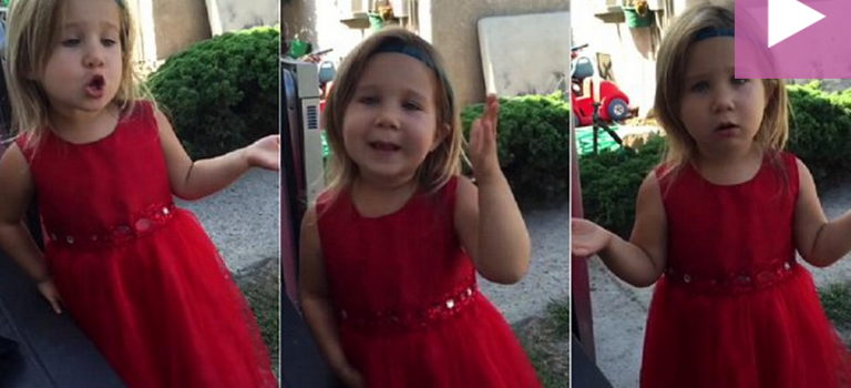 視頻:美國4歲花童演講爆紅,讓你自愧不如