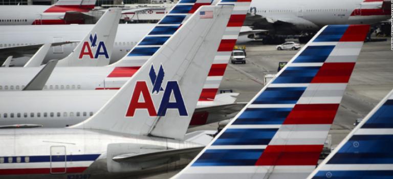 美國航空機長猝死,飛機迫降紐約雪城