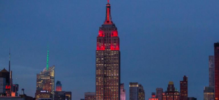本月周帝國大廈燈光全揭秘:你知道背後的意義嗎?