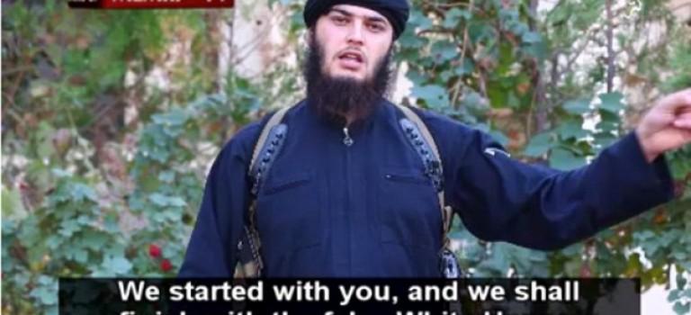 """ISIS發佈新視頻威脅白宮,并要""""火烤""""奧巴馬"""