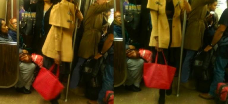 【視頻】一對男女紐約地鐵拿尖物威脅乘客?!