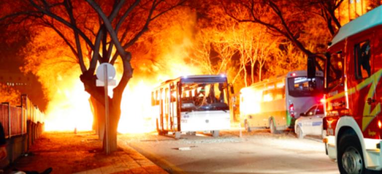 土耳其首都遭炸彈恐怖襲擊,至少28死百餘人傷