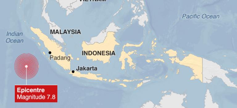 「新聞」印尼發生7.8級強震,當局發出海嘯預警