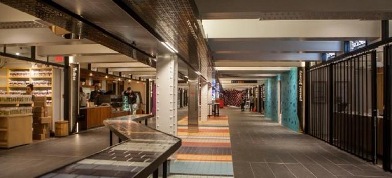 紐約首個地下美食購物城開張,就在XX地鐵站!