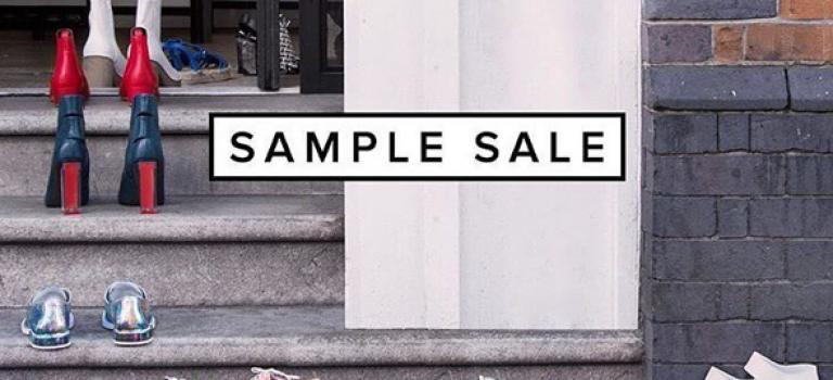 月底都要吃土了!那就來個最強Sample sales做結尾吧!