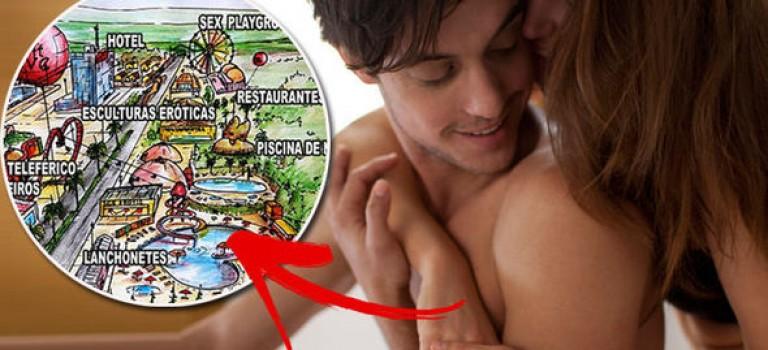 """首個性愛主題樂園即將興建:全裸泳池、帶按摩棒的影院堪稱""""成人迪士尼"""""""