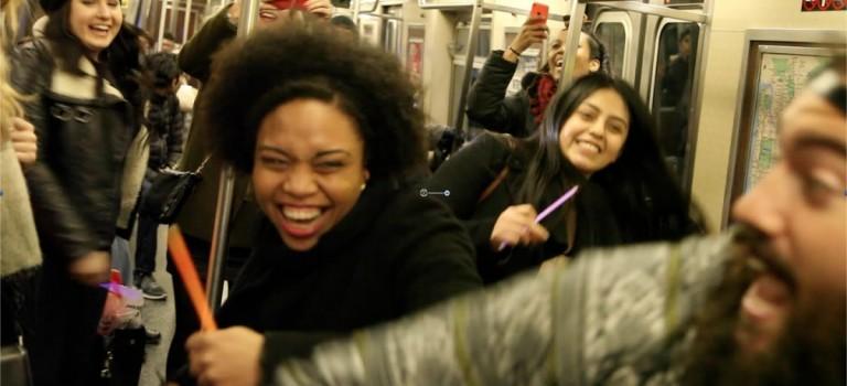 10個超酷影片告訴你:紐約地鐵就是一個神奇的潘多拉魔盒